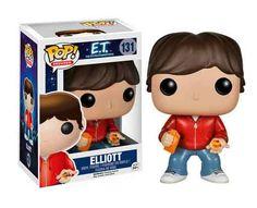 Cabezón Elliot, E.T. El Extraterrestre. Funko POP Movies Cabezón creado por Funko del personaje creado por Steven Spielberg, Elliot, para el film ET el Extraterrestre, de 1982.