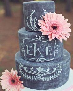 A quem diga que este é o novo naked cake. Pra quem quer inovar na festa, este bolo de giz é a pedida da vez e a mais nova moda. No primeiro. 16th Birthday Cake For Girls, 13 Birthday Cake, Sweet 16 Birthday, Chevron Birthday, Birthday Stuff, 13th Birthday, Birthday Ideas, Pretty Cakes, Cute Cakes