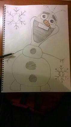 Olaf by frozen ⛄❄