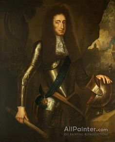 Sir Godfrey Kneller, Bt. William Iii oil painting reproductions for sale