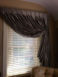 PJohnsonInt Patti Johnson 2h Love this #windowtreatment in the @ShowHouseDPVA #sneakpeek