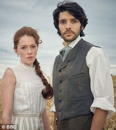 Charlotte Spencer and Colin Morgan star in The Living and The Dead, due on BBC at the end of June but available from today on iPlayer as part of the BBC's binge-watching experiment