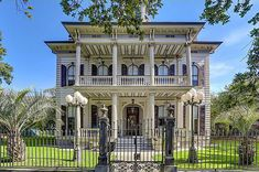 Anne Rice's New Orleans Mansion #dreamhome