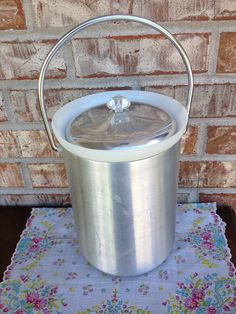 Vintage Kromex Ice Box Spun Aluminum - Made in USA on Etsy, $13.95