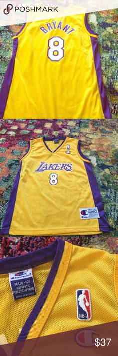 74a377e7fb44 Vintage Kobe Bryant Jersey Vintage Kobe Bryant Los Angeles Lakers jersey.  Bought years ago and