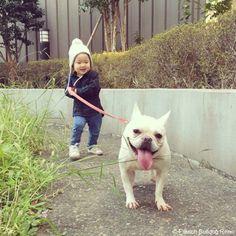 こっちにおいで❤️ #frenchbulldog #frenchie #dog #daughter #babygirl  #フレンチブルドッグ #女の子