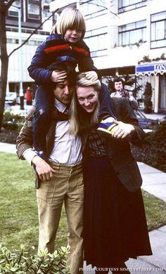 Justin Henry, Dustin Hoffman and Meryl Streep Golden Age Of Hollywood, Old Hollywood, Kramer Vs Kramer, Dustin Hoffman, Top Film, Film Images, Christian Bale, Mamma Mia, Meryl Streep