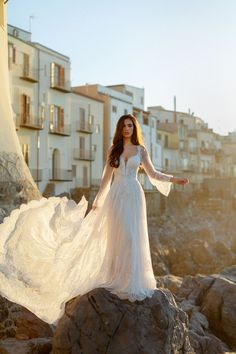 25602 - Anna - Pure romance! Try this beauty on at Aurora Bridal in Melbourne, FL 321-254-3880