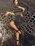 Gustav Klimt inspired Line Design