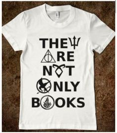 Percy jackson / harry potter / the mortal instruments / the hunger games / divirgent