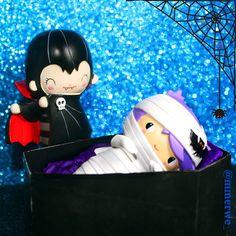 Come with us and you will see this our town of Halloween.. Laa la-la laa, Halloween! Halloween! @bywonderland @MomijiHQ #bywonderland #momijihq #momijisevgiyiyay34 #momijioctober14 #momijidolls #lovemomiji #momijilove #momijilovers #heebiejeebie #tinyteeth #halloween #cadılarbayramı #cadilarbayrami