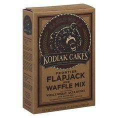 Kodiak Cakes Frontier Flapjack and Waffle Mix Whole Wheat, Oat & Honey 24 oz