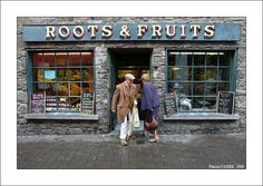 Roots & Fruits in Kilkenny.  (Can't wait!  I hope to run into these two so they can show me around.)