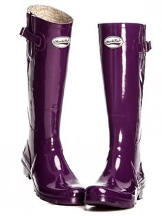 Rockfish Boot Gloss Acai Purple