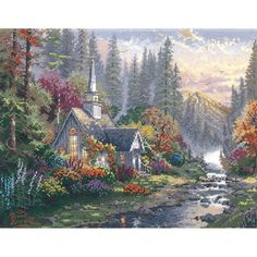 Thomas Kinkade Cross Stitch Patterns
