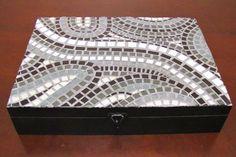 caixas decoradas com mosaico - Pesquisa Google