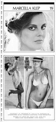 MARCELLA KLEP 1982