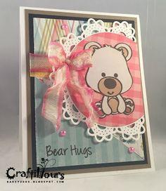 Craftily Yours: Bear Hugs