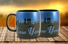 New York Night Sky Mug - Enjoy your favorite hot beverage in this generous 22oz Mug.