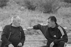 Sergei Shoigu in the Republic of Tuva. (Father Shoigu - ethnic Tuvan)