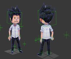 Image result for low poly boy