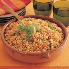 Savoury Rice Recipe at MyDish