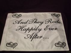 Motorcycle Wedding And They Rode Happily Ever by FairyTaleWeddings, $12.99