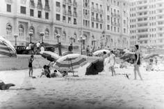 Fotos antigas do Rio de Janeiro - Praia de Copacabana - Final dos anos 30