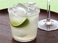 Classic Margaritas : Tequila, lime juice, orange-flavored liqueur and sugar are all you need for these go-to margaritas. via Food Network