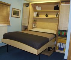 Majestid SyudyBed with bespoke side units