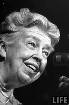"""Anna Eleanor Roosevelt ( October 11, 1884 – November 7, 1962) was an American politician. She was the longest-serving First Lady of the United States By the time of her death, she was regarded as """"one of the most esteemed women in the world"""" and """"the object of almost universal respect"""". In 1999, she was ranked in the top ten of Gallup's List of Most Widely Admired People of the 20th Century.♡❤❤❤♡❤♡❤❤❤♡ http://www.biography.com/people/eleanor-roosevelt-9463366#awesm=~oFud6LcosIJCM7"""