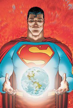 westcoastavengers: Superman by Frank Quitely