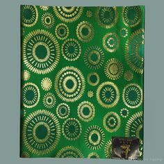 Green African Headties Sego Head Tie,New HeadTie Sego Gele Ipele for African…