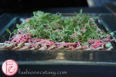 seared tuna sashimi by FashionEcstasy.com, via Flickr