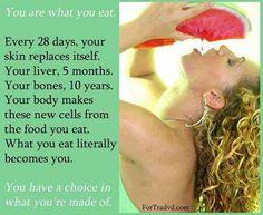 Eating healthy can help your skin. #naturalbeauty #fruitsandvegetables Click here. http://smiller2.canada.juiceplus.com/content/JuicePlus/en_ca/clinical-research/juice-plus-clinical-research.html#.U6bkJV55TLQ