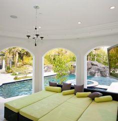 A Mediterranean Custom Home With a Modern Twist, by Mega Builders - mediterranean - patio - los angeles - Alon Toker