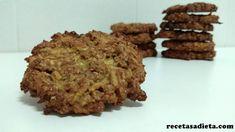 galletas de avena, manzana y canela Krispie Treats, Rice Krispies, Biscotti, Almond, Cheesecake, Muffin, Favorite Recipes, Healthy Recipes, Cookies