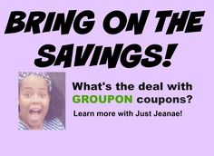 Groupon coupons make saving money a breeze! Ways To Save Money, Money Tips, Money Saving Tips, Money Games, Blog Love, Blogger Tips, Saving Ideas, Life Lessons, Coupons