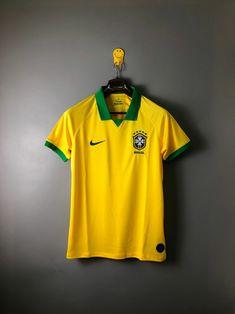 Brazil national football team Nike 2019 Copa America Home Kit Leaked Shirt  Trikot Maglia Camiseta De Fútbol Jersey FUSSBALL SOCCER JERSEY BNWT 719eafc77