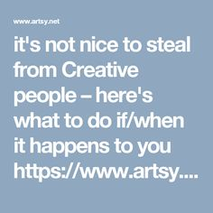 it's not nice to steal from Creative people – here's what to do if/when it happens to you  https://www.artsy.net/article/artsy-editorial-how-artists-are-fighting-back-against-the-fashion-industry-s-plagiarism-problem?utm_source=facebook&utm_medium=social&utm_campaign=sm-artsy-editorial-news-2016&utm_content=fb-fashion-vs-artists-1
