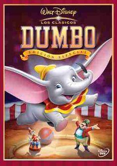 DUMBO (1941). Las cigüeñas llegan, como todos los años, hasta un pintoresco circo para repartir los bebés a sus respectivas mamás. La señora Dumbo, una elefanta, descubre que su bebé tiene unas orejas enormes; todas sus compañeras se ríen de él, pero la señora Dumbo lo defiende siempre, hasta el punto de ser encerrada por enfrentarse a todo aquel que se mofe de su retoño. DVD en la biblioteca.