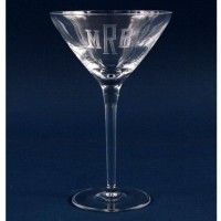 Shop for Engraved Crystal Martini Glass - oz at best prices. We sells promotional gifts and personalized custom engraved glassware items. Engraved Glassware, Margarita Glasses, Logo Images, Monogram Initials, Custom Logos, Custom Engraving, Martini, Simple Designs, Barware