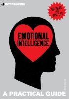 Introducing Emotional Intelligence: A Practical Guide by David Walton. The book teaches the reader how to become more aware of his or her own emotions, and shows how being more aware of others emotions can improve personal and professional relationships.