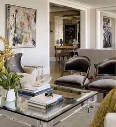 Прозрачные акценты! #interiors #design #idea