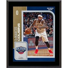 "DeMarcus Cousins New Orleans Pelicans Fanatics Authentic 10.5"" x 13"" Sublimated Player Plaque - $29.99"