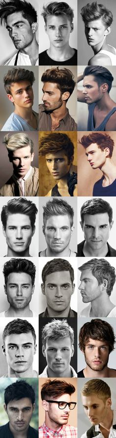 Awesome New Men's Hair Products with Inspiring Photo Montages!