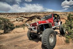 Tony Pellegrino and the GenRight YJ in Moab. #jeep #jeeping #offroad #offroading #wheeling #desert #moab