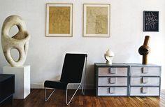 Jean Arp & Sophie Tauber-Arp home/studio featured in World of Interiors.