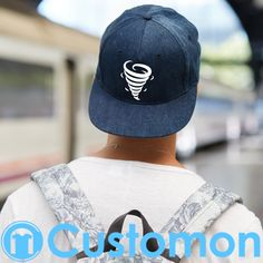 3fc71d36075b1 Tornado Clothing Snapback Hat (Embroidered