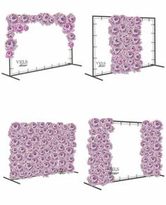 Floral wall with pvc frame how to make a portable wedding backdrop frame with PVC piping I really want a backdrop for a photobooth :D Giant Flowers on a Stand both sides - Home Page Backdrop Frame, Diy Backdrop, Paper Flower Backdrop, Photo Booth Backdrop, Photo Backdrops, Backdrop Wedding, Decor Photobooth, Decoration Evenementielle, Giant Paper Flowers